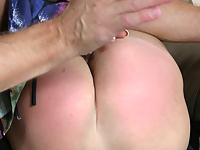 Innocent babe spanked until she can't take it anymore