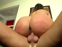 Stunning whore loves getting her butt slammed